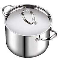 Cooks Standard 12 Quart Classic Stainless Steel Stockpot with Lid