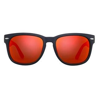 Deep Lifestyles Orange Wow Unisex Men Women Classic Framed Maui Sunglasses