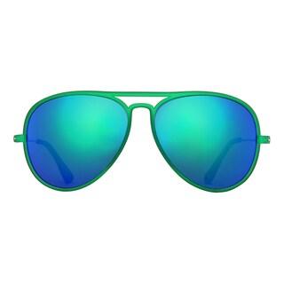 Deep Lifestyles Green Unisex Men Women Lightweight Aviator Sunset Sunglasses
