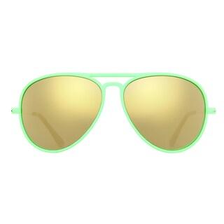Deep Lifestyles Spearmint Unisex Men Women Lightweight Aviator Sunset Sunglasses