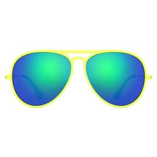 Deep Lifestyles Highlighter Unisex Men Women Lightweight Aviator Sunset Sunglasses