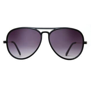 Deep Lifestyles Black Pearl Unisex Men Women Lightweight Aviator Sunset Sunglasses