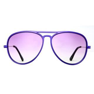 Deep Lifestyles Purple Pearl Unisex Men Women Lightweight Aviator Sunset Sunglasses