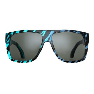 Deep Lifestyles Midnight Zebra Unisex Men Women Oversized Square Framed Zuma Sunglasses
