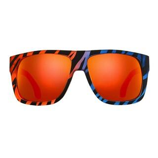 Deep Lifestyles Sunset Zebra Unisex Men Women Oversized Square Framed Zuma Sunglasses