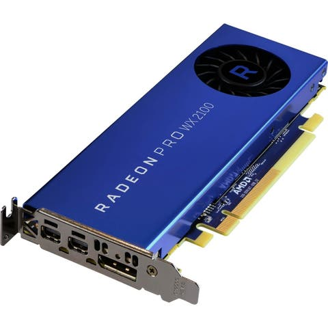 AMD Radeon Pro WX 2100 Graphic Card - 2 GB GDDR5 - Low-profile