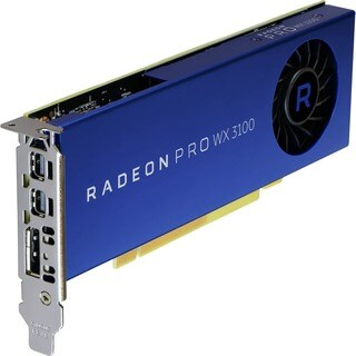 AMD Radeon Pro WX 3100 Graphic Card - 1.22 GHz Core - 4 GB GDDR5 - Ha
