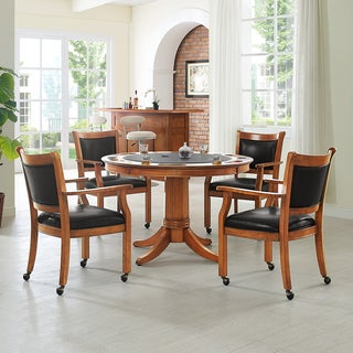 Crossley Furniture Reynolds Dutch Colonial 5-piece Game Table Set