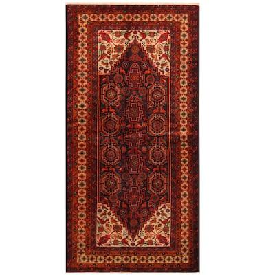 Handmade One-of-a-Kind Balouchi Wool Rug (Iran) - 3'4 x 6'7