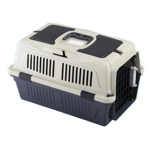 A & E Cage Co. Deluxe Pet Carrier with Storage Compartment (Case of 6)