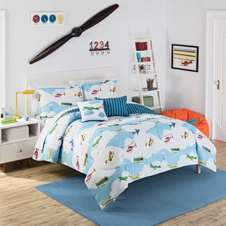 Waverly Kids In the Clouds Reversible 3-piece Comforter Set