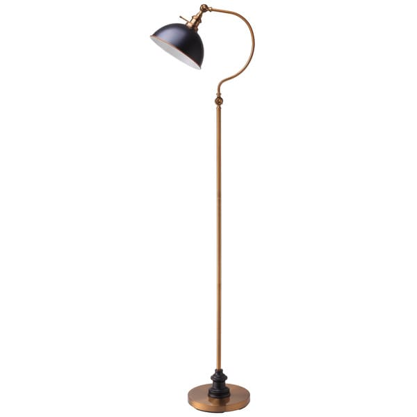 "Q-Max 31180F-AB 69"" Goose Neck Arched Floor Lamp"
