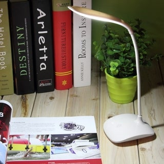Adjustable USB Rechargeable Touch Sensor LED Reading Light