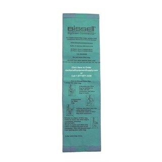 Bissell BigGreen Lightweight Commercial Upright Vacuum Bags, 25 Pk.