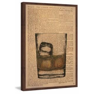 'Brandy on the Rocks' Framed Painting Print