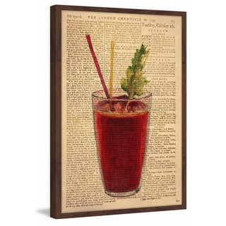 'Bloody Mary Time II' Framed Painting Print