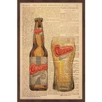'Carlsberg Time II' Framed Painting Print