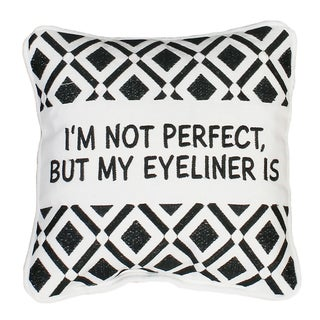 Zoey Eyeliner Mini Throw Pillows