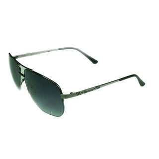 Guess Fashion Men's GG2087 GUN-35 Gunmetal w/ Grey Gradient Lens Sunglasses