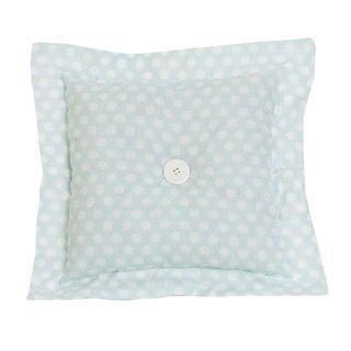 Cotton Tale Lizzie Soft Blue/White Dot Decor Throw Pillow