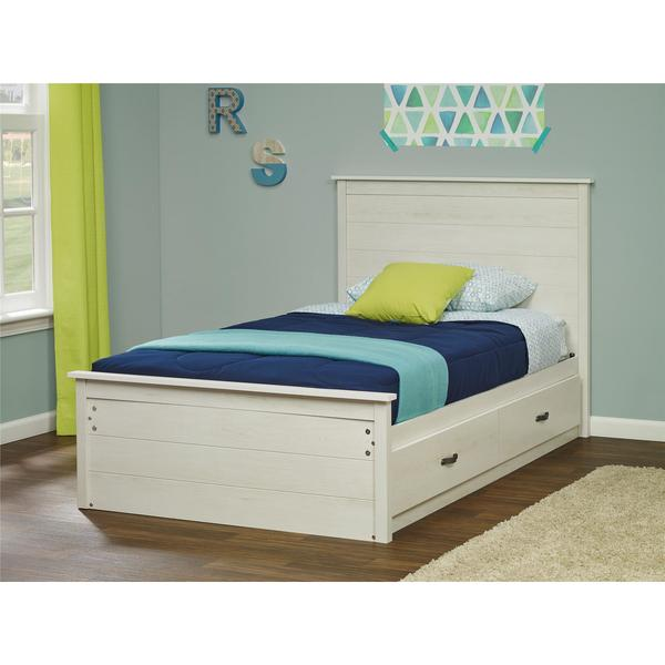 Shop Ameriwood Home Kyle Twin Mates Bed With Headboard