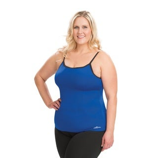 Dolfin Aquashape Scoop Neck Blue Tankini Top