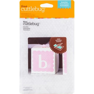 "Cuttlebug 5""X7"" Embossing Folder-Swiss Dots"