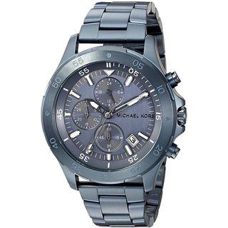 Michael Kors Men's MK8571 'Walsh' Chronograph Navy Stainless Steel Watch
