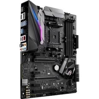 ROG Strix X370-F GAMING Desktop Motherboard - AMD Chipset - Socket AM