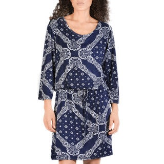 Bluberry Women's Hanselle Tie-at-Hip Dress