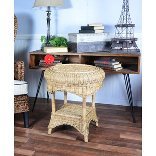 Handmade Boracay 22-inch Rattan Indoor/ Outdoor End Table (Philippines)