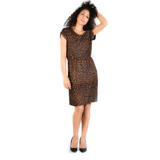 Bluberry Women's Leopard Print Adelia Dress