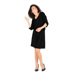 Bluberry Women's Augasta Black Dress