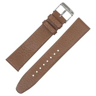 Dakota Tan Geniune Textured Leather with Slim Padding Watch Band (18mm, 20mm, 22mm)|https://ak1.ostkcdn.com/images/products/16078744/P22464171.jpg?impolicy=medium