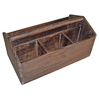 Cheung's Wooden Garden Storage Caddy