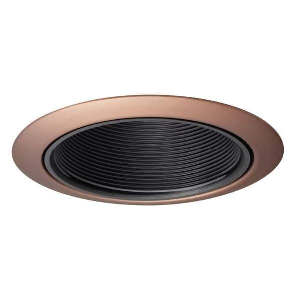 Juno Lighting  Inch Recessed Baffle Trim Black Baffle With Bronze Trim