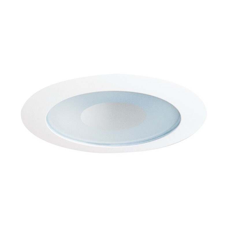 Juno Lighting 12 WWH 4-Inch Recessed Shower Trim, Frosted...