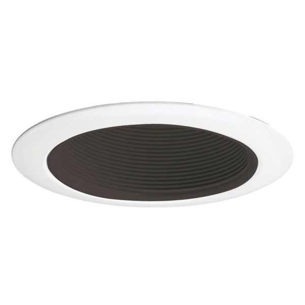 Shop Juno Lighting  Inch Recessed Baffle Trim Black Baffle With White Trim Free Shipping On Orders Over 45 Overstock Com 16079048