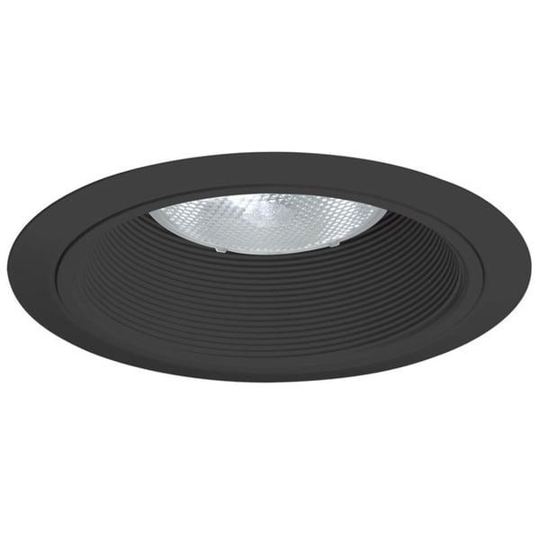 Juno Lighting 24 Bbl 6 Inch Baffle Trim Black With Ring