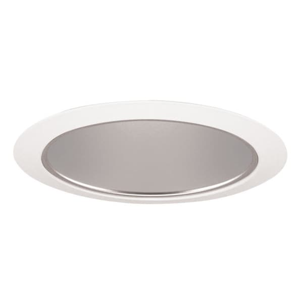 shop juno lighting 27 hzwh 6 inch tapered cone haze cone with white