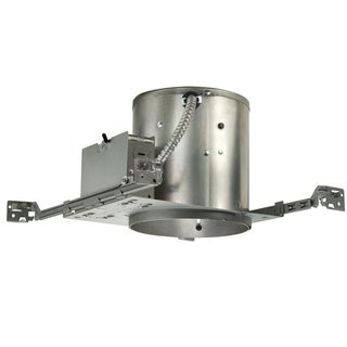 Juno Lighting IC22 W 6-Inch IC Rated Universal Incandescent Housing with Push In Electrical Connectors