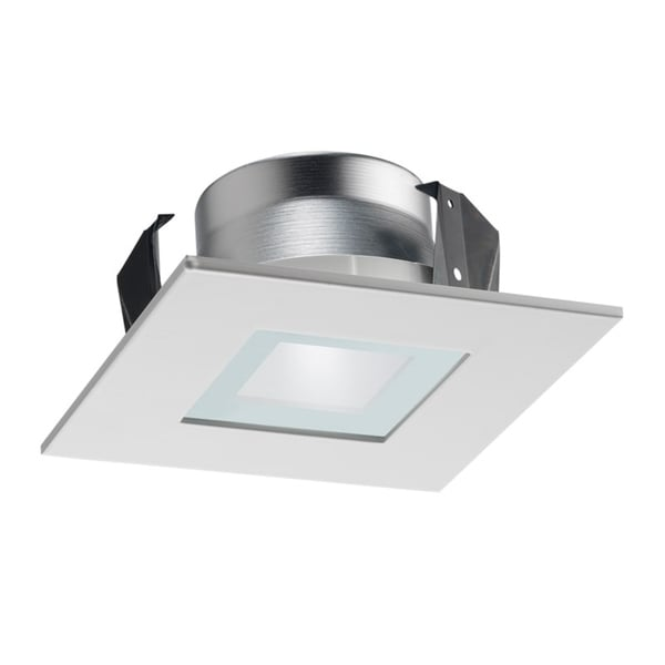 Shop Juno Lighting 12sq Wwh 4 Inch Square Recessed Shower