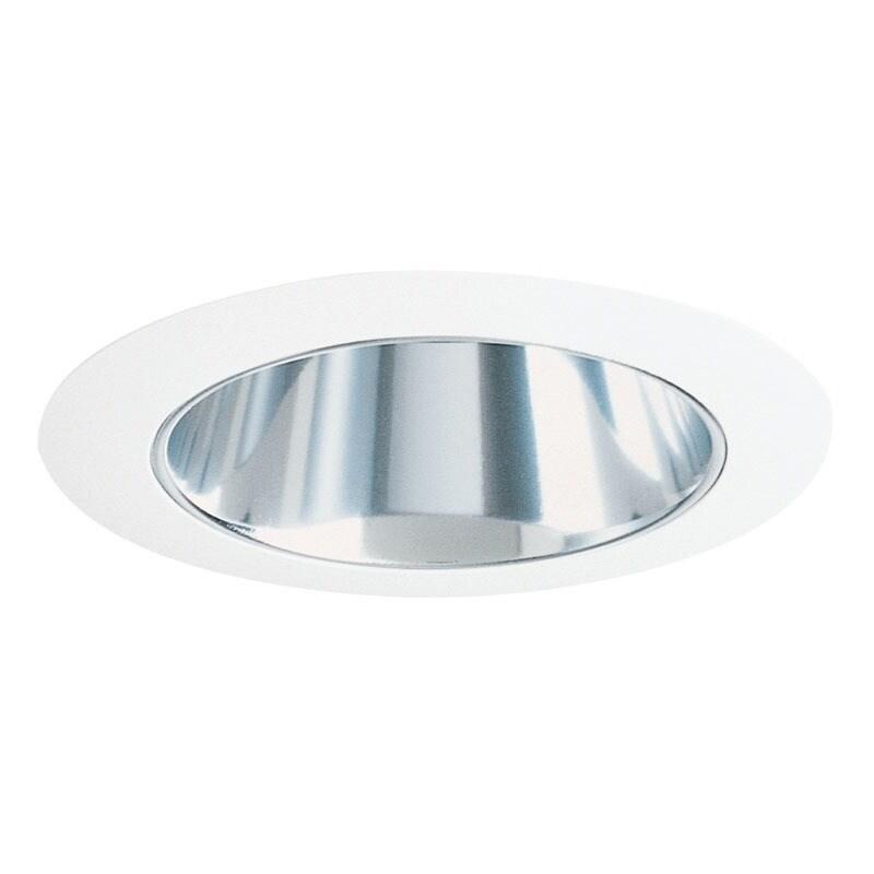 Juno Lighting 17 CWH 4-Inch Cone Trim, Clear Alzak Cone a...