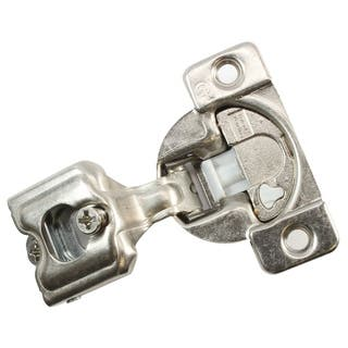 "50 Pack Grass 04441A-15 TEC 864 Hinge 108 Degree 1"" Overlay, Screw-on Soft Close