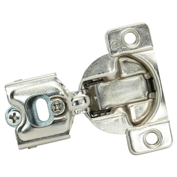 "Grass 108 Deg 1-1//2/"" Overlay Self Close Screw on Compact Cabinet Hinge 04499-15"