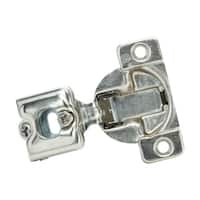 Grass Metal Satin Overlay Self Close Hinges (Pack of 25)