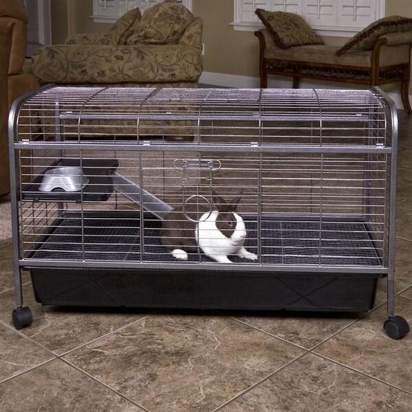 Living Room Series Rabbit/Guinea Pig Home - black