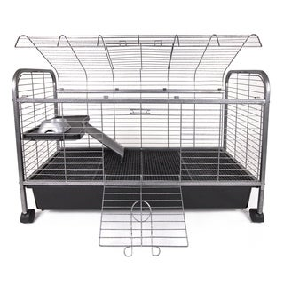 Marchioro Susan Medium Free Standing Rabbit Guinea Pig Cage Free Shipping Today Overstock