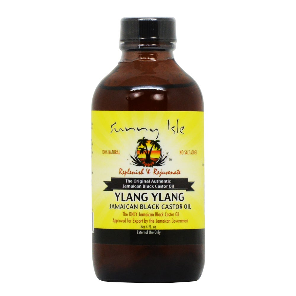 Sunny Isle Ylang Ylang 4-ounce Jamaican Black Castor Oil ...