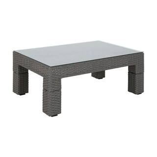 Madison Park Perry Light Grey Outdoor Coffee Table